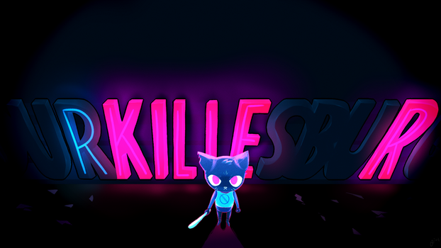 Night in the Woods - KILLER by TheMinisculeMakahiya