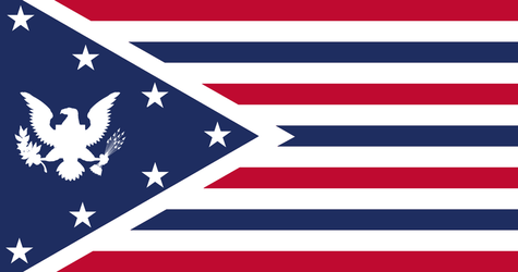 Flag of the Third American Imperium by Imperial-Ascendance