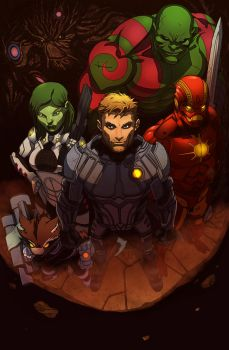 Guardians of the Galaxy Feb 18 2016 by dwa-cztery