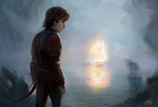 Hiccup by DreamyNatalie