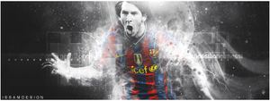 Messi by issam-gfx