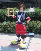 Dream Drop Distance Sora Cosplay by sleepyotter