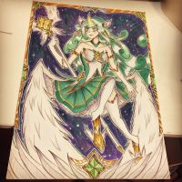 Star Guardian Soraka  by enzoZkatsuragi