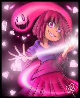 (GlitchTale) Bete Noire / Betty by b1uewhirlwind