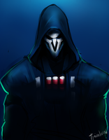 Overwatch - Reaper by Triumbrush
