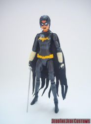 Black Bat Cassandra Cain custom action figure by Jedd-the-Jedi