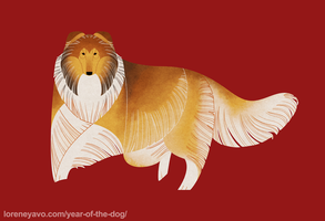 Year of the Dog - Rough Collie by Kelgrid
