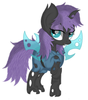 Maud Pie (Changeling) by Law44444