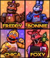 Rockstar Restaurant Unofficial Posters! by witheredfnaf