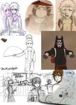 Sketch Dump Thingy by JackieWest