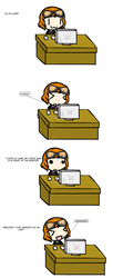 This actually happened by Wriggle-Kick