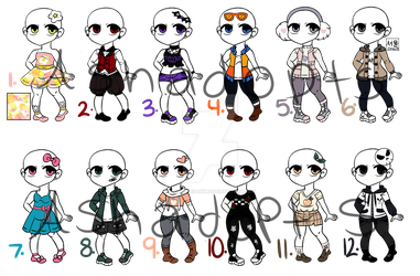 (Open) Outfits That Make Me Fit by ashulikesanimu