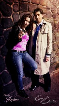 What's up, Clarence? - Meg Cosplay - SUPERNATURAL by Eressea-sama