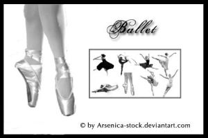 Ballet Brush Set by Arsenica-stock