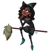 Witchy_5 by Sibsy