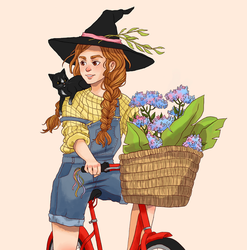 Plant witch by Mellobird