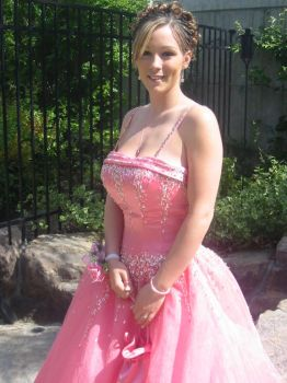 Pink prom dress 1 by morganmarie123