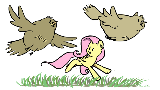 Feathered Friends by FouDubulbe