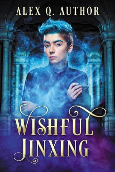 Wishful Jinxing - premade book cover by LHarper