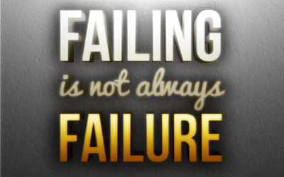 Failing Is Not Always Failure by michaelsboost