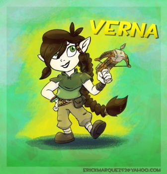 Verna by TheInsaneDingo