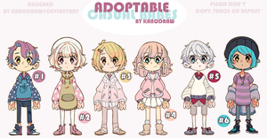 Adoptable: Casual Babes (CLOSED) by amepan
