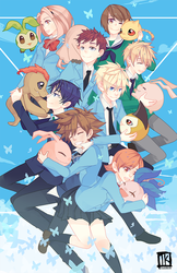 Digimon Adventure tri. by BottleWonderland