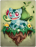 001 Bulbasaur by Daguu