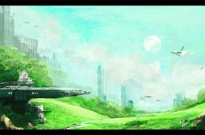 old air Base by ilya Tyljakov (speedpaint) by RaZuMinc