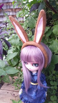 Russet Color Doll Bunny Ears by Hop-is-my-Hero