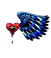 Flying Heart (edited) by libranchylde