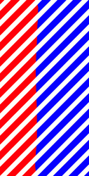 Red and Blue Stripes by AdrenalineRush1996