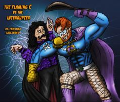 Flaming C vs The Interrupter by Evil1991