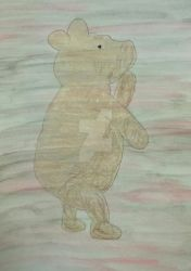 VV 208 Milne's Early Bear Of Little Brain by handylight