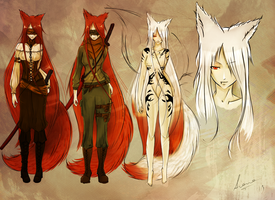 Project: Kitsune by aianeart