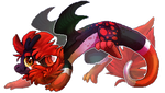 Pixel Dragon by why-so-cirrus