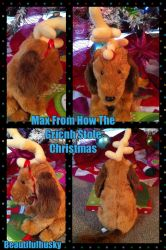 Max Plush From How The Grinch Stole Christmas 2000 by BeautifulHusky