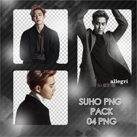 Suho PNG Pack by exostangalaxy