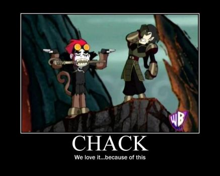 Chack Motivaitonal Poster by Autocon-Femme