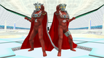 [MMD DL] Ultras - Ultraman Leo and Astra by BigJohnnyCool