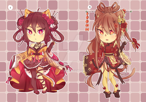 ::Adopts:: Big Kitties 2 CLOSED by K0USEKI