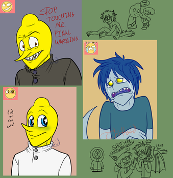 Tumblr Doodles by Chillaid