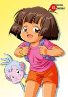 Explorin' Dora by Goldsickle