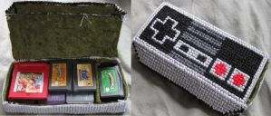 NES case xstitch by coincollect408