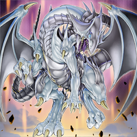 Azure-Eyes Silver Dragon by Yugi-Master