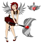 The Milky Way Calvary: Sailor Phoenix by Ninapedia