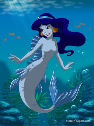 Jasmine as a Mermaid II by manony