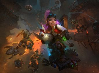 Goblins vs Gnomes : Extreme racing by timens