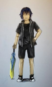 young Noctis by NicoTopin