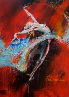 Flamenco dancer by HPRADO